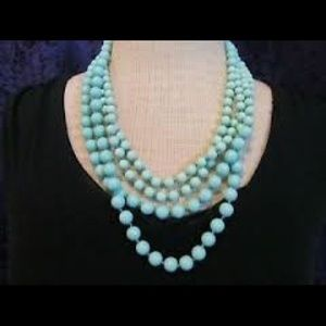 Sea breeze Necklace (90 inches long)